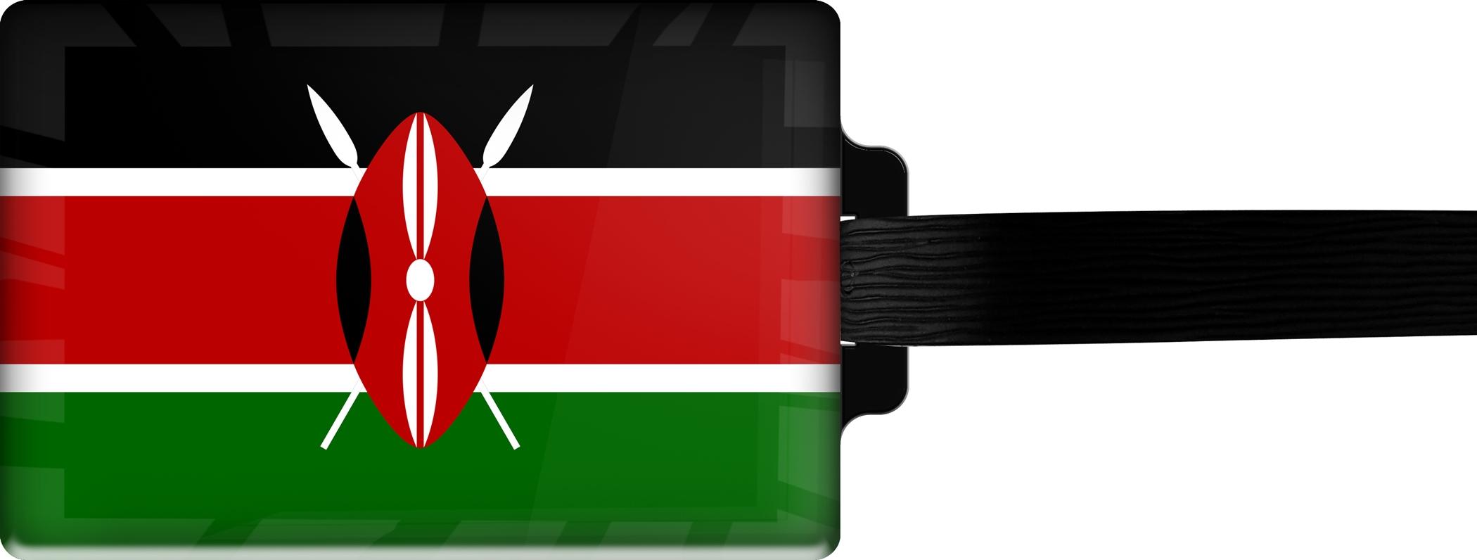 """metALUm Premium Gepäckanhänger """"Kenia"""""""