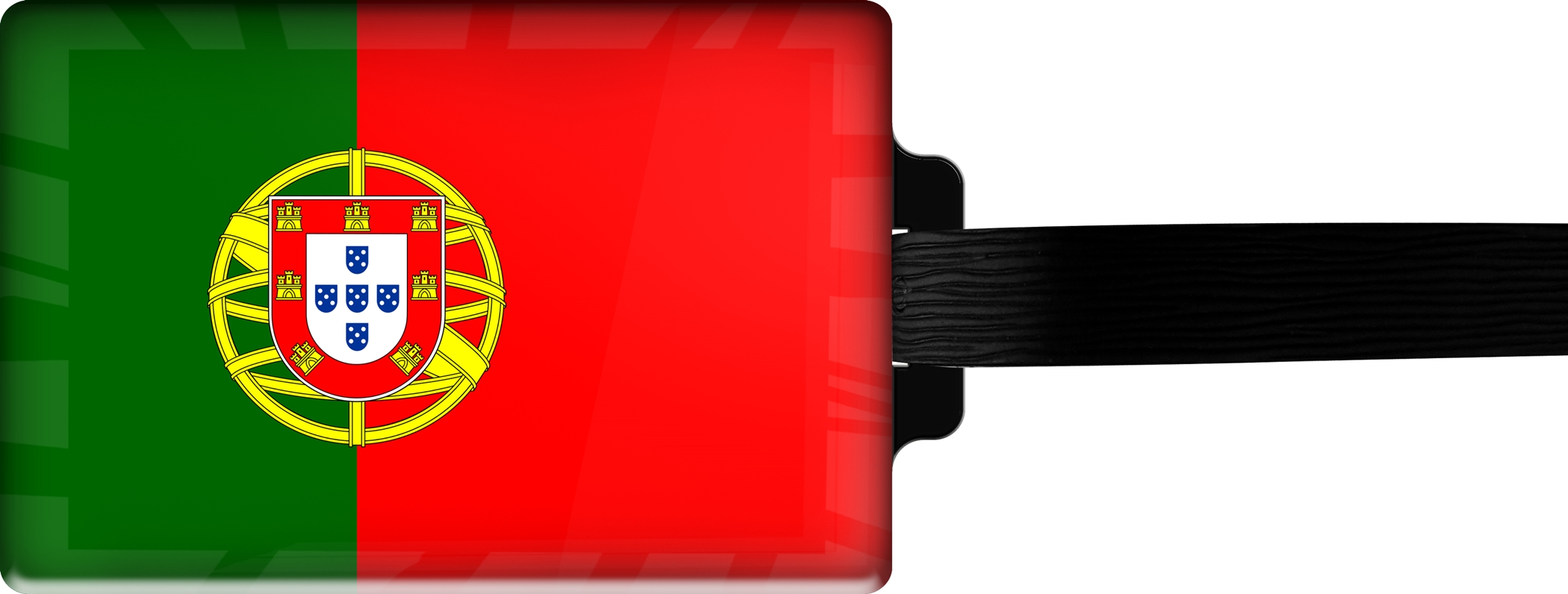 "metALUm Premium Gepäckanhänger ""Portugal"""
