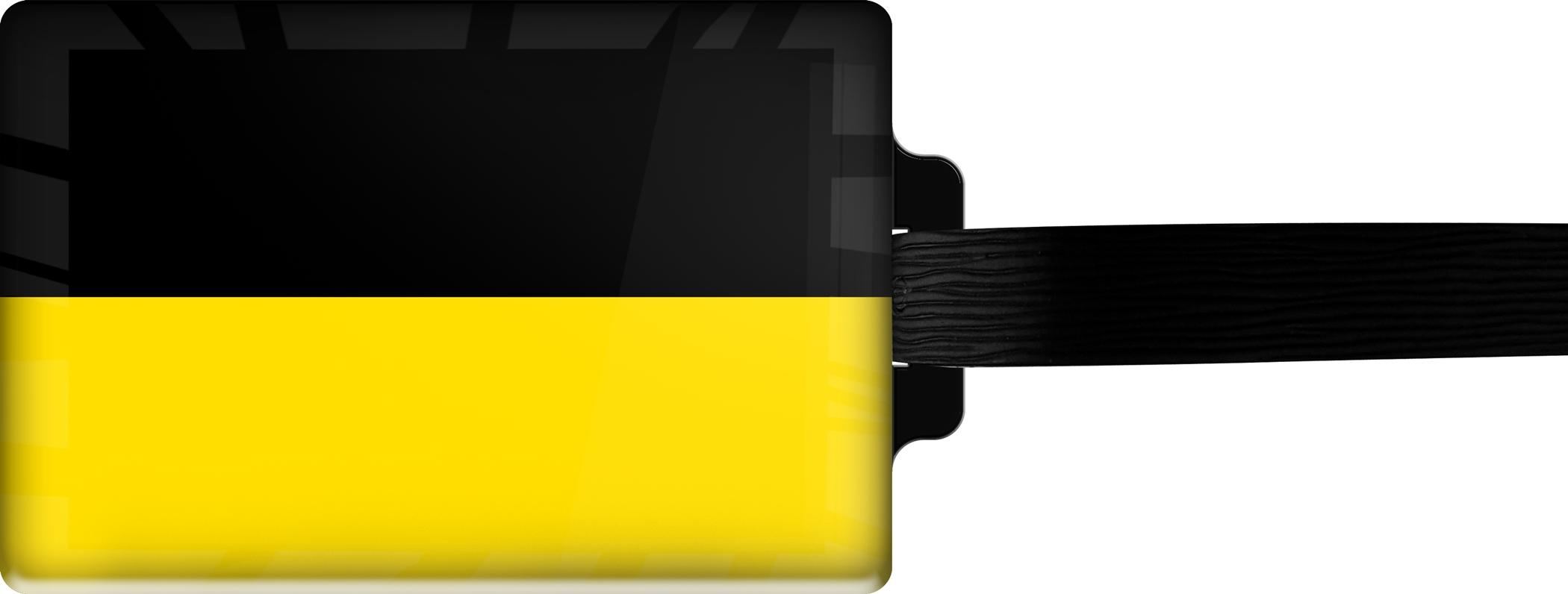 "metALUm Premium Gepäckanhänger ""Baden-Württemberg"""