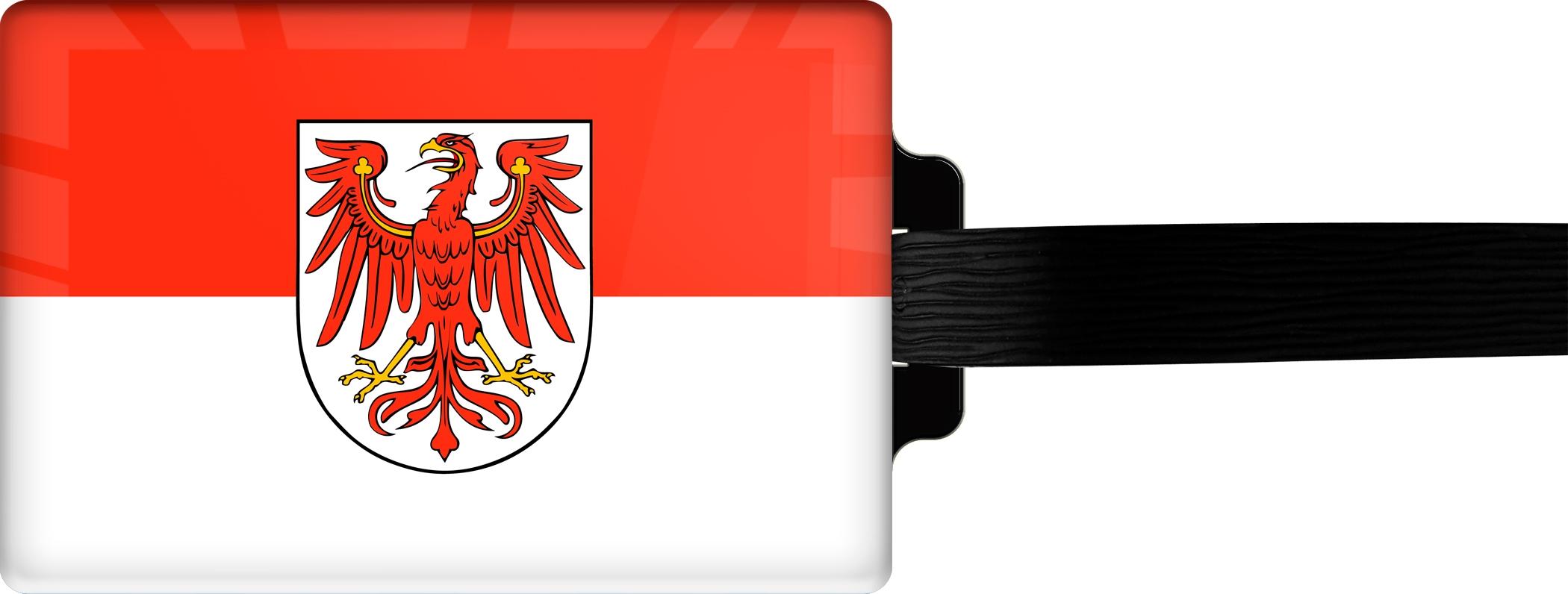 "metALUm Premium Gepäckanhänger ""Brandenburg"""