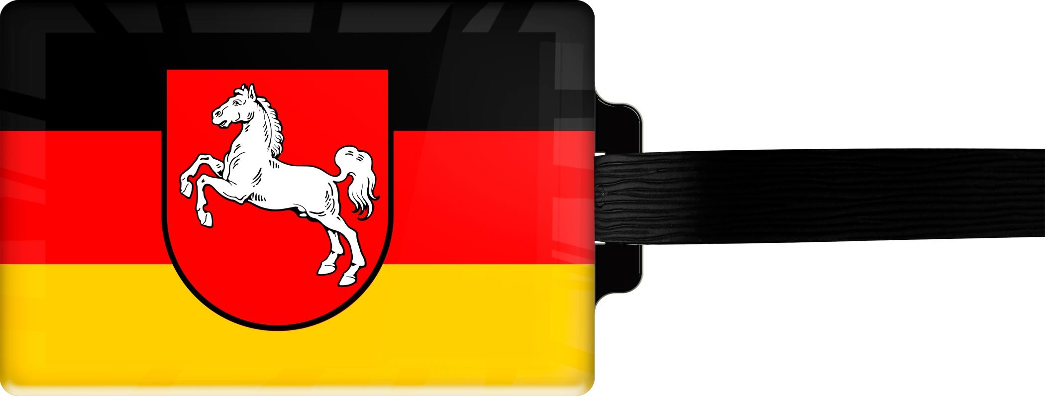 """metALUm Premium Gepäckanhänger """"Niedersachsen"""""""