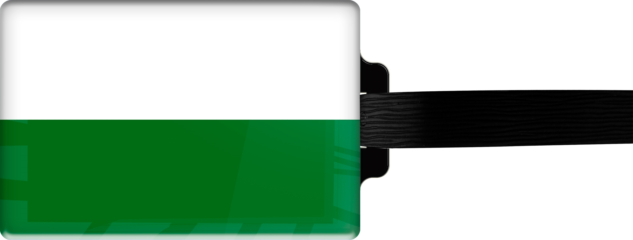 "metALUm Premium Gepäckanhänger ""Sachsen"""