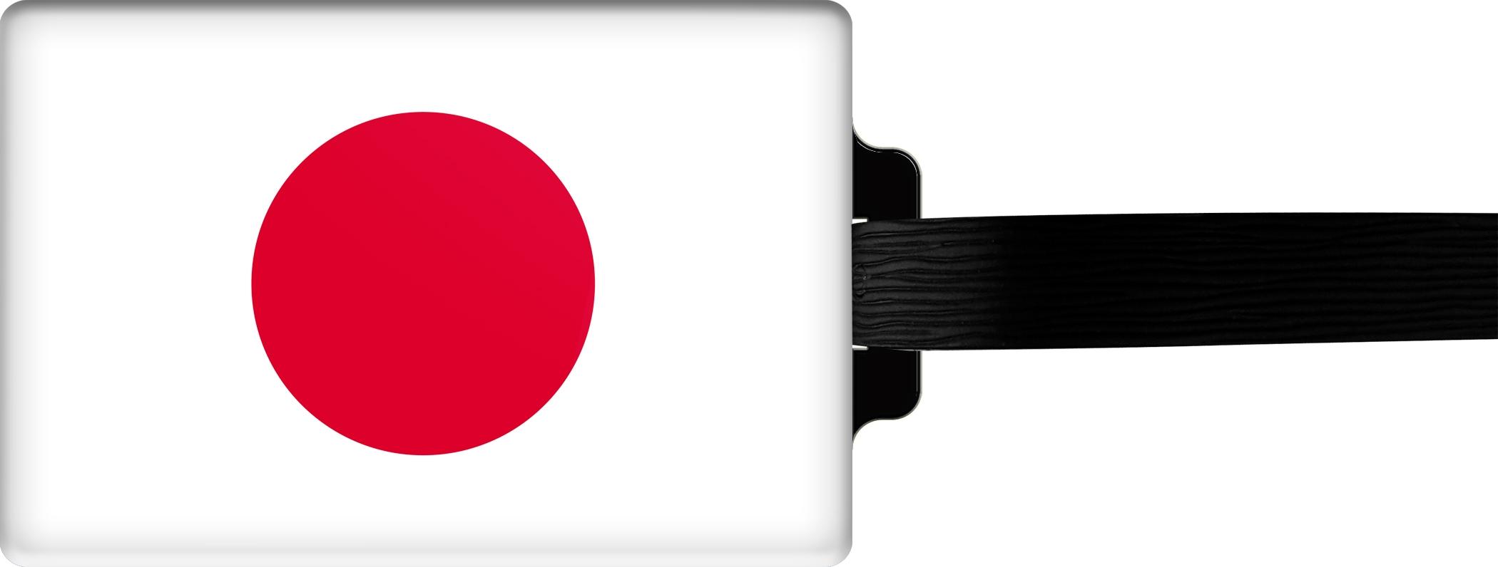 """metALUm Premium Gepäckanhänger """"Japan"""""""