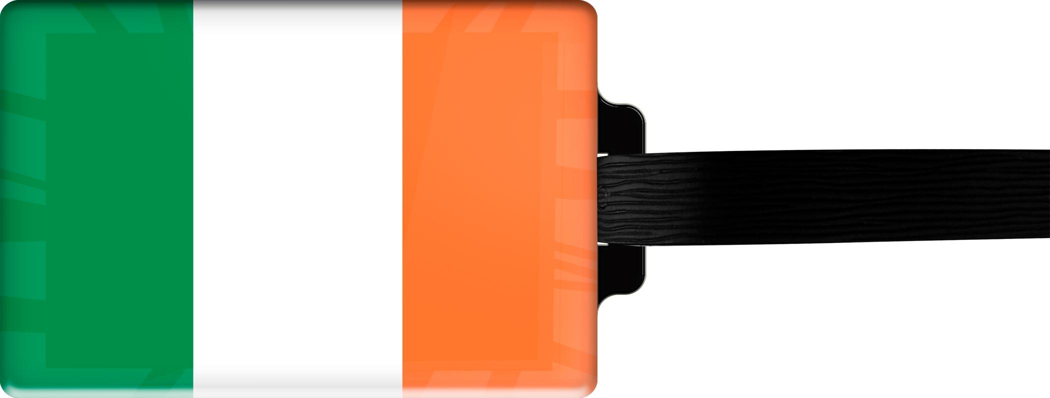 "metALUm Premium Gepäckanhänger ""Irland"""