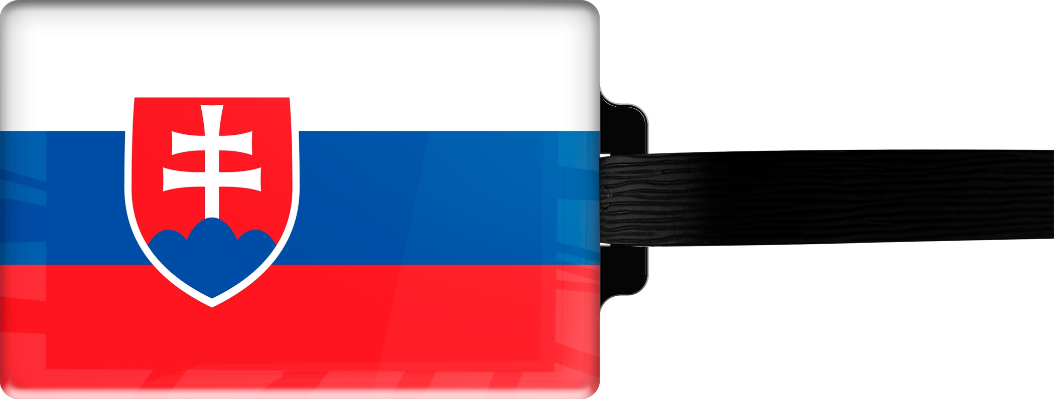 "metALUm Premium Gepäckanhänger ""Slowakien"""