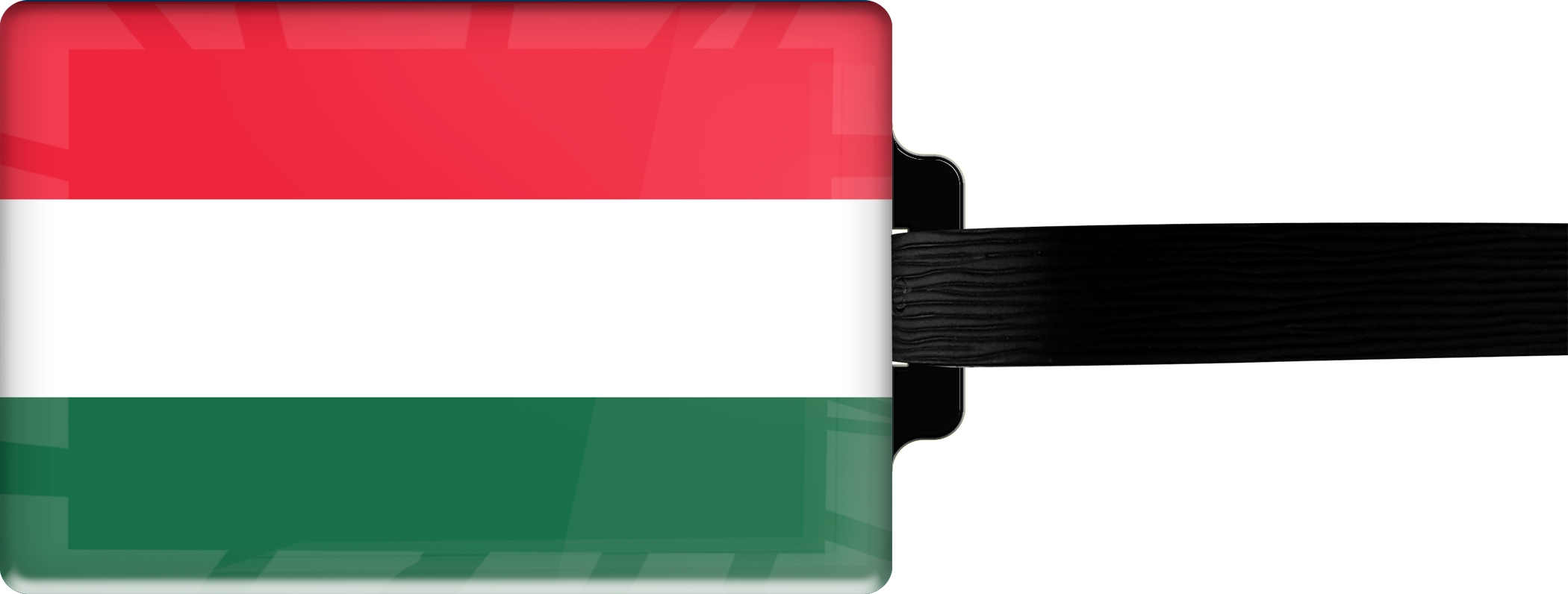 "metALUm Premium Gepäckanhänger ""Ungarn"""