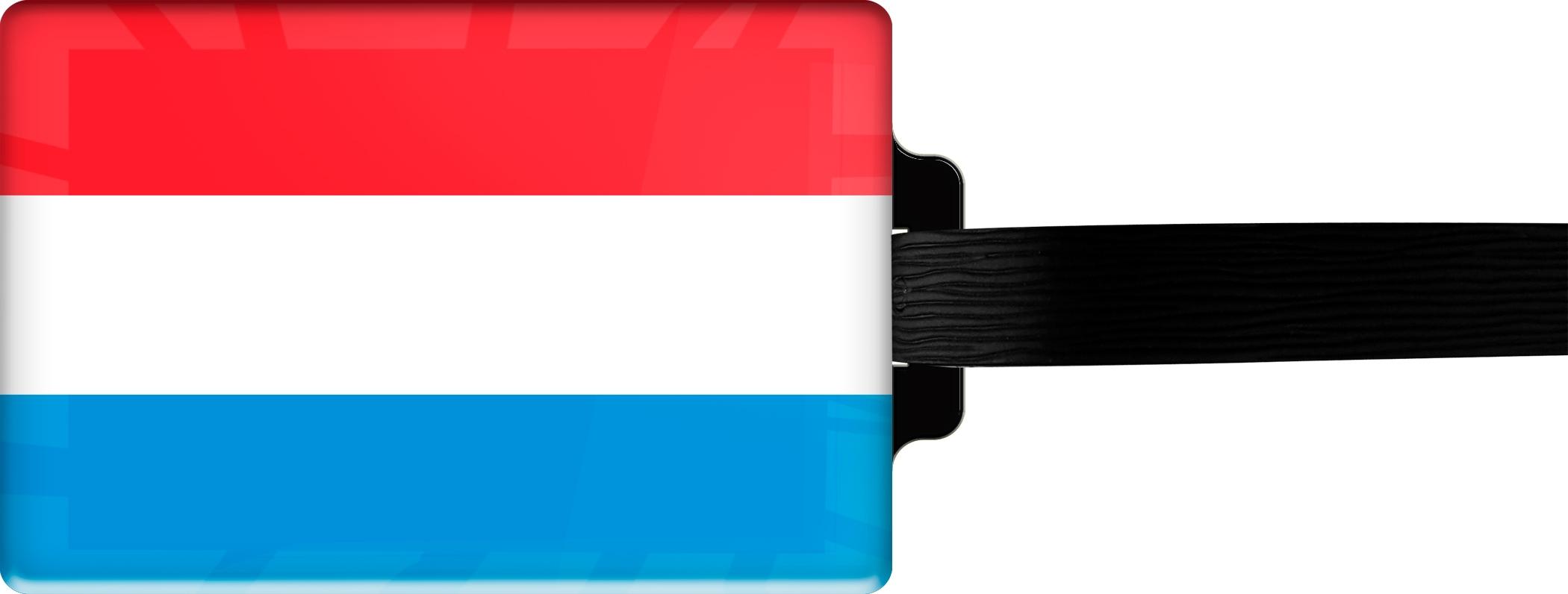 "metALUm Premium Gepäckanhänger ""Luxemburg"""