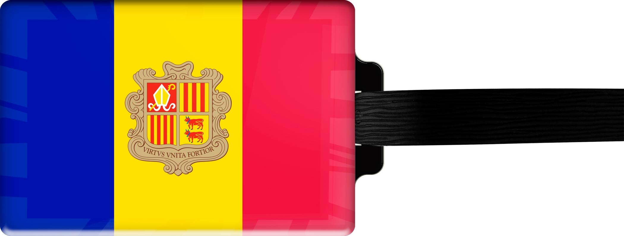 "metALUm Premium Gepäckanhänger ""Andorra"""