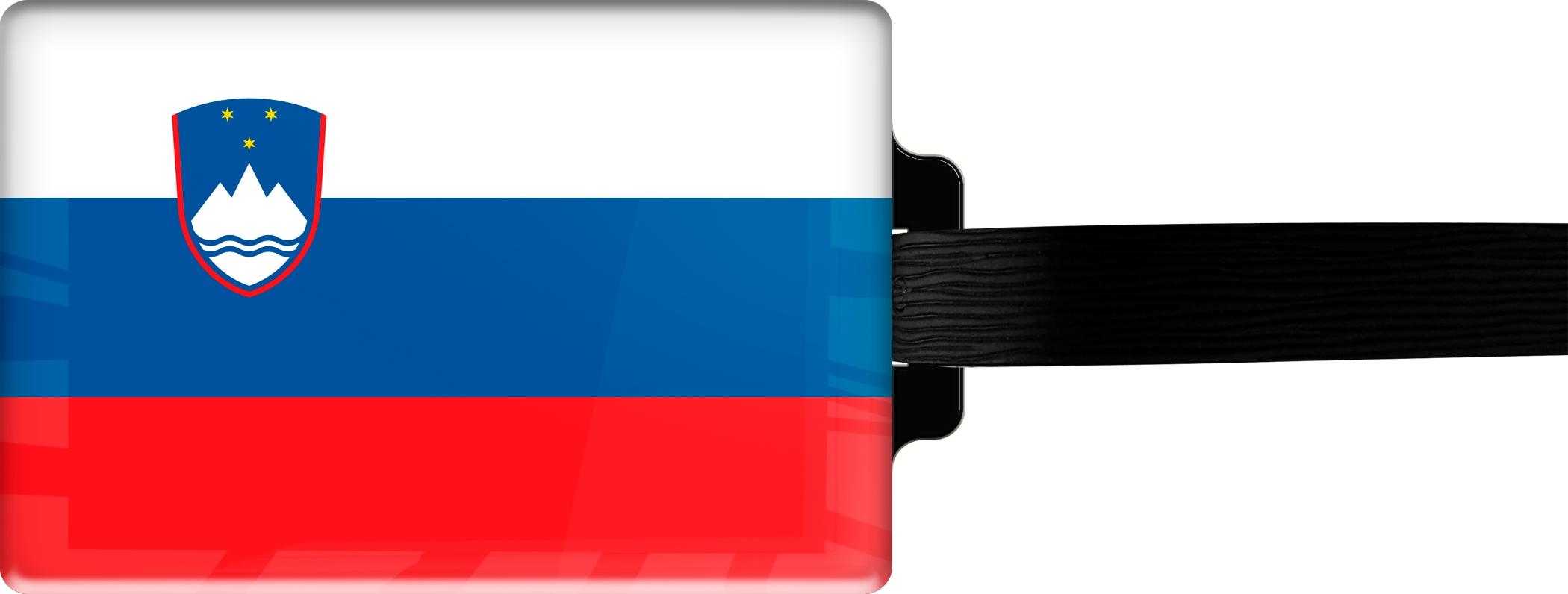 "metALUm Premium Gepäckanhänger ""Slowenien"""
