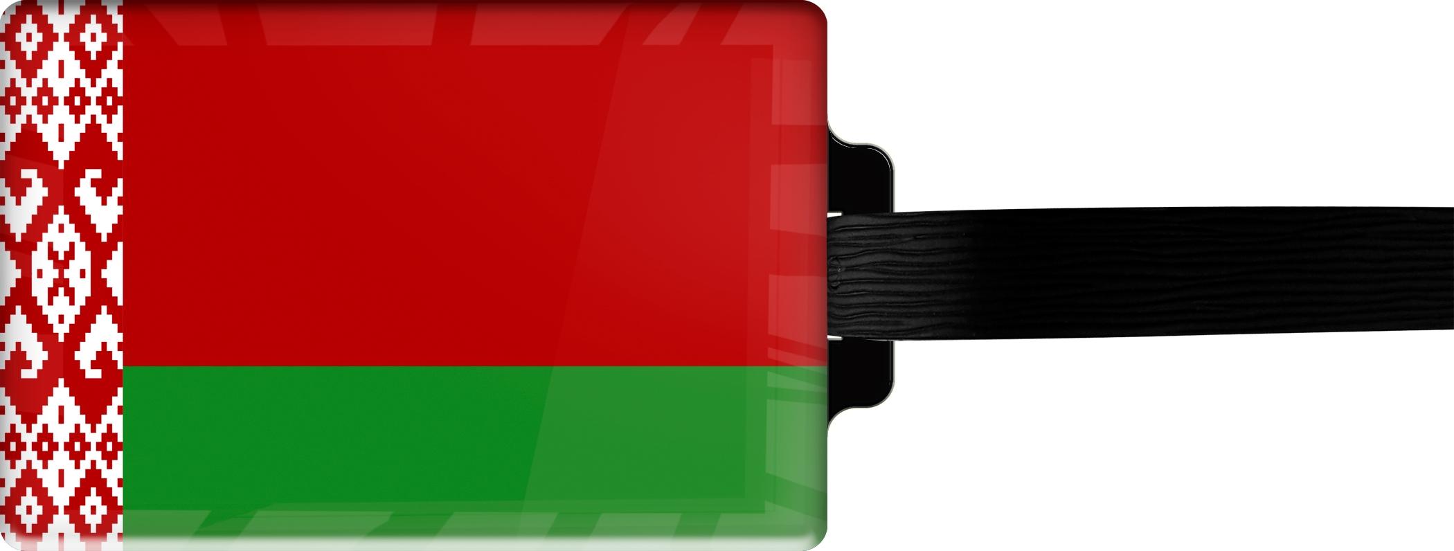 """metALUm Premium Gepäckanhänger """"Weißrussland"""""""