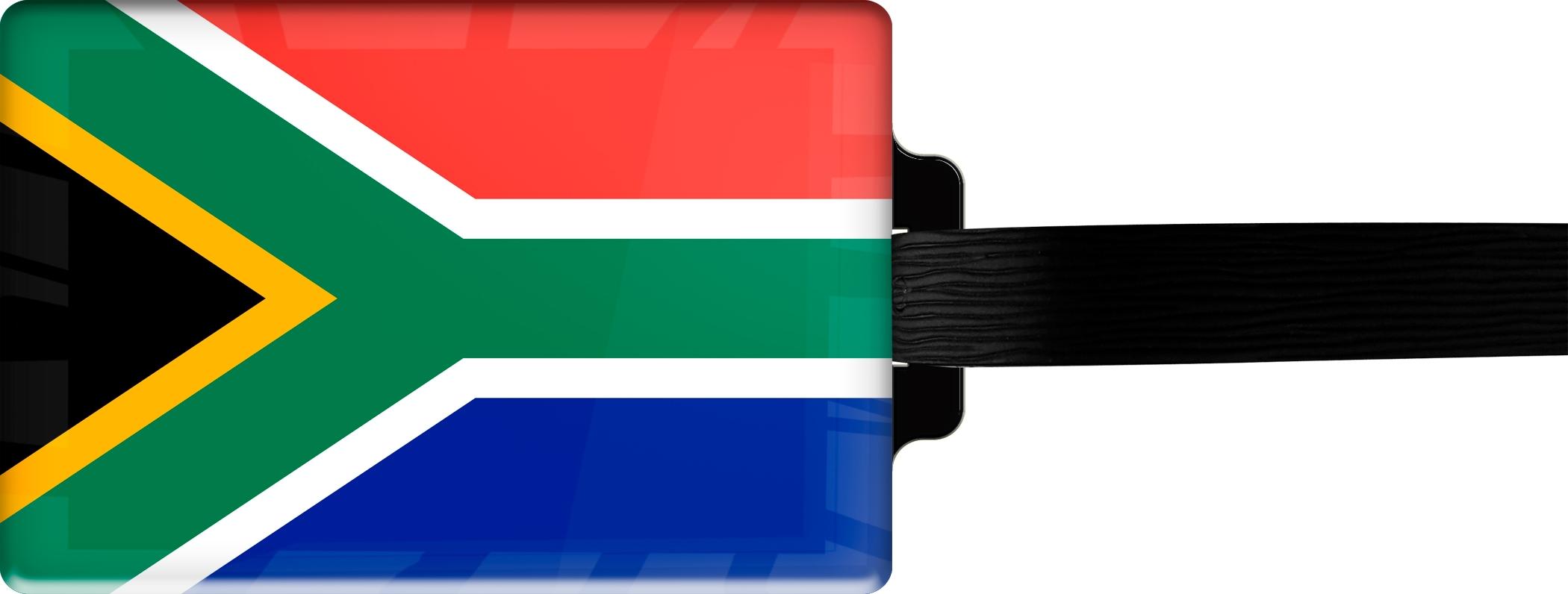 """metALUm Premium Gepäckanhänger """"Südafrika"""""""