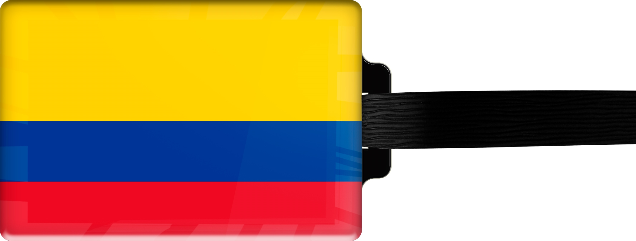 "metALUm Premium Gepäckanhänger ""Kolumbien"""