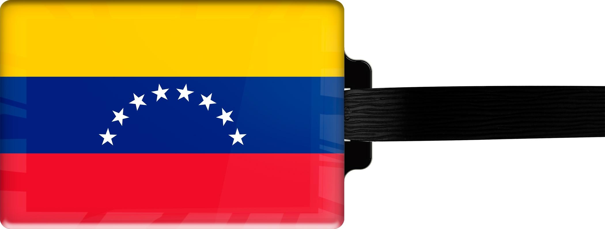 "metALUm Premium Gepäckanhänger ""Venezuela"""