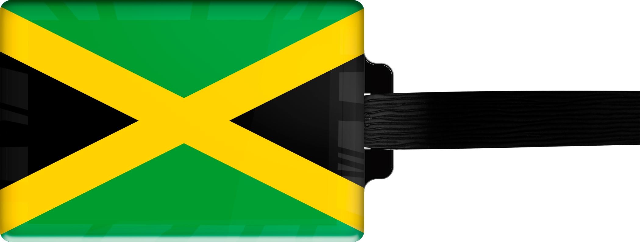 """metALUm Premium Gepäckanhänger """"Jamaika"""""""