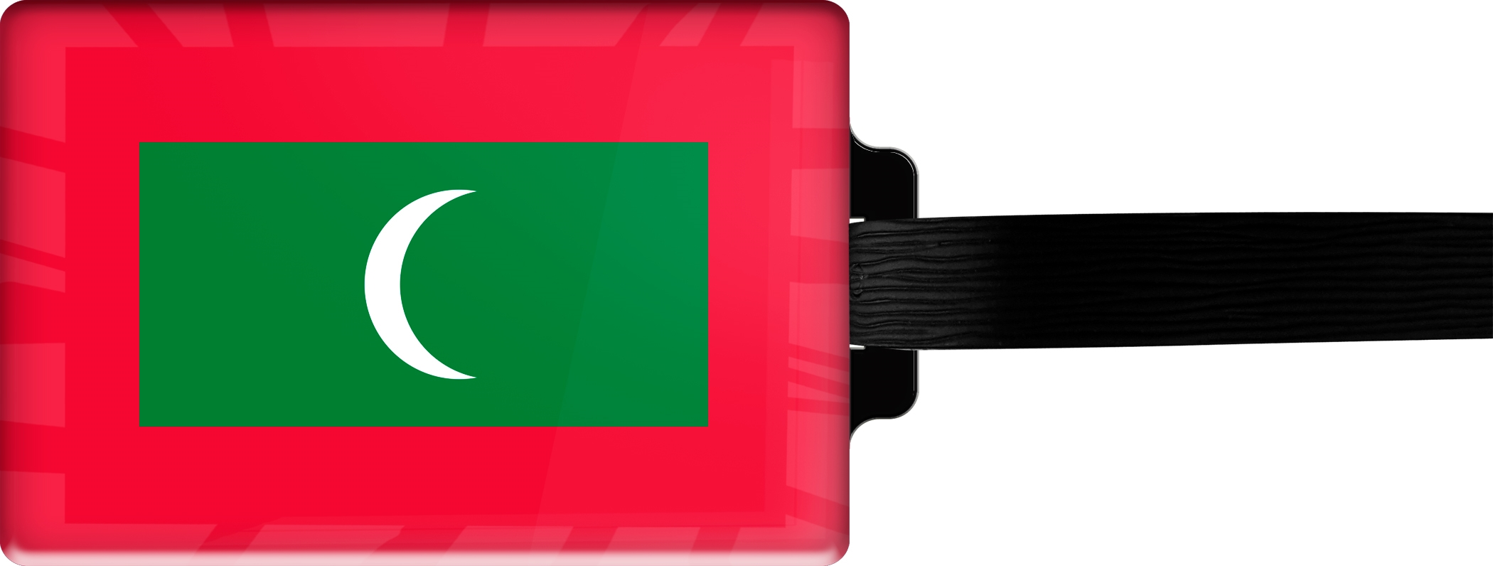 "metALUm Premium Gepäckanhänger ""Malediven"""