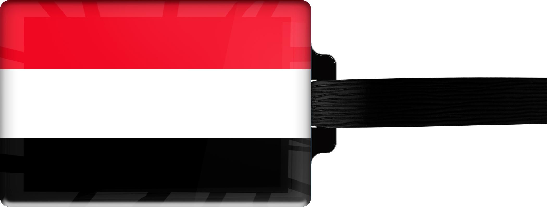 """metALUm Premium Gepäckanhänger """"Jemen"""""""
