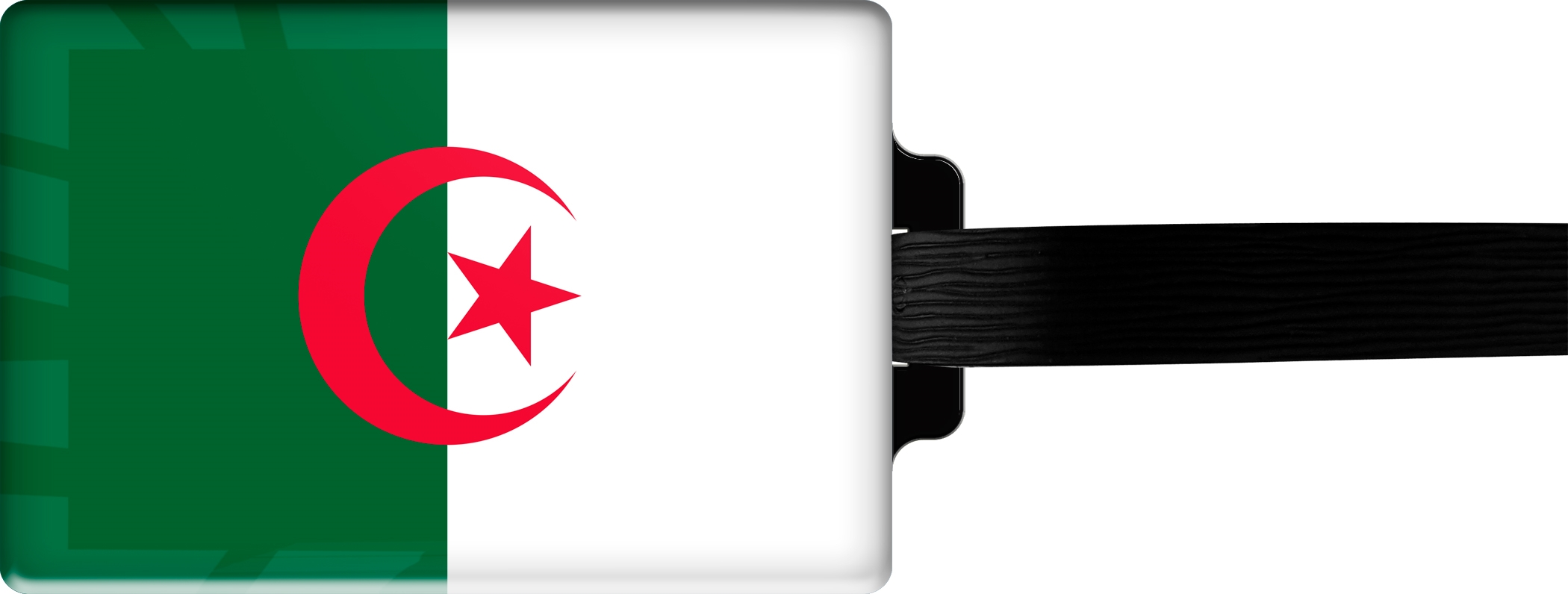 "metALUm Premium Gepäckanhänger ""Algerien"""