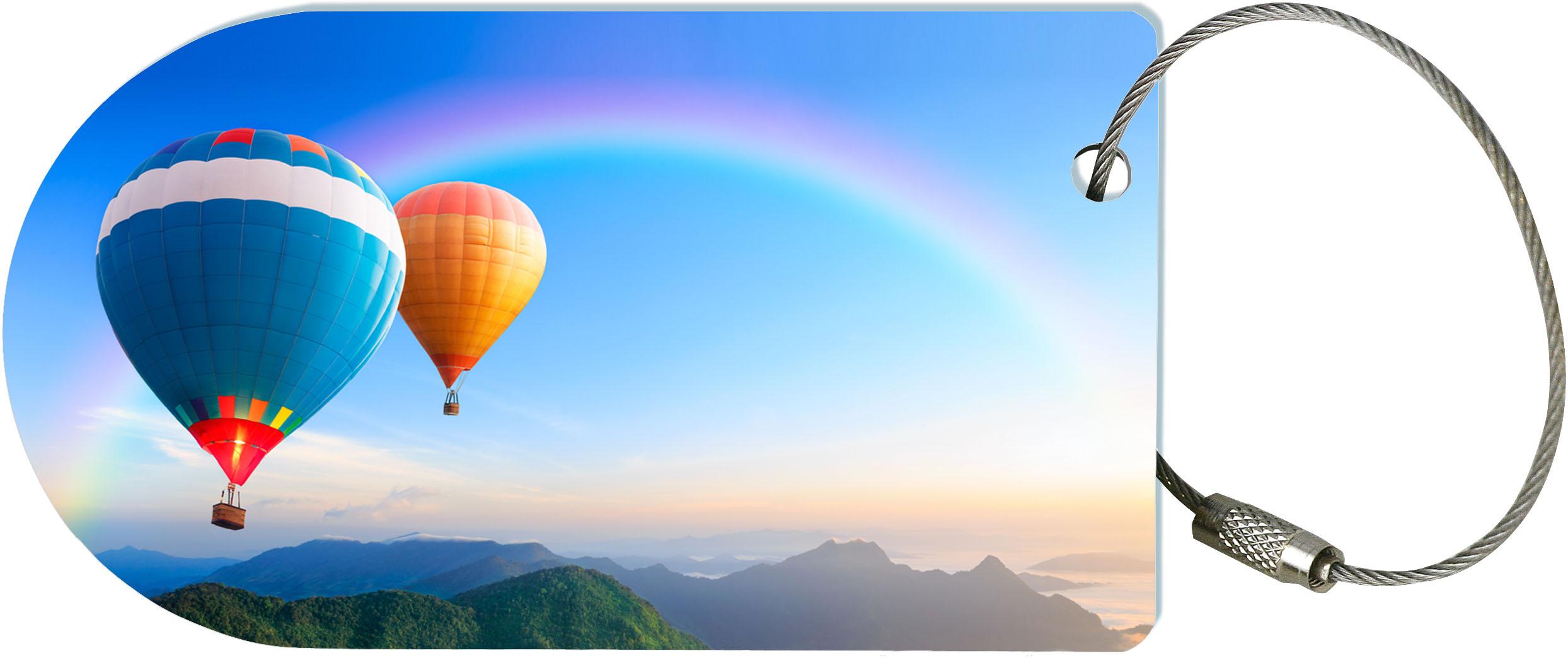 "metALUm Premium Gepäckanhänger ""Heißluftballons"""