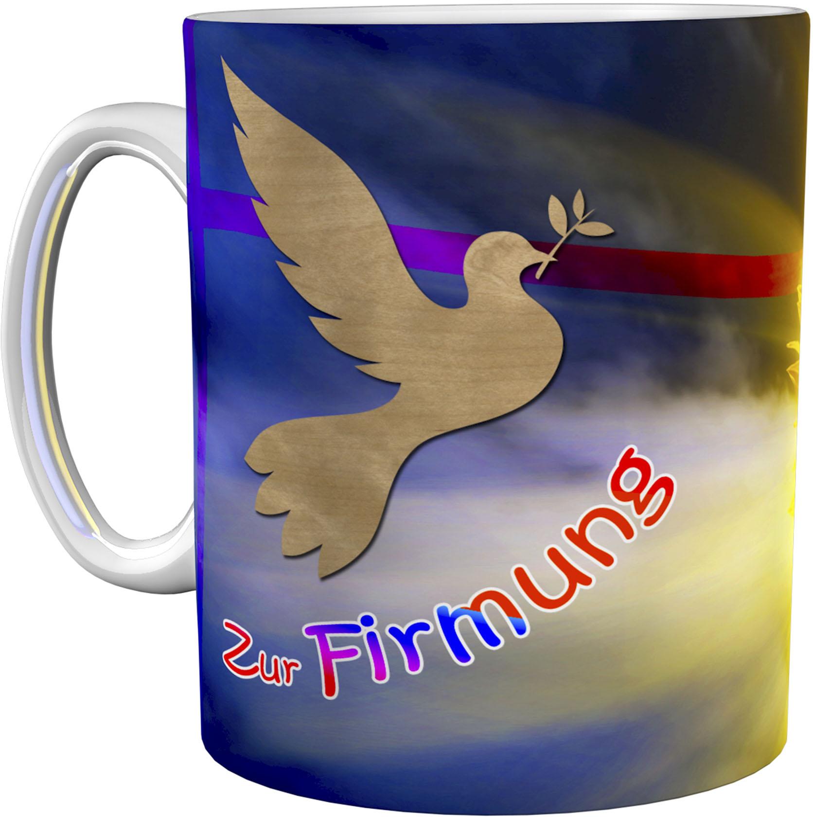Kaffeetasse / Kaffeebecher / Sonnenblume / Firmung