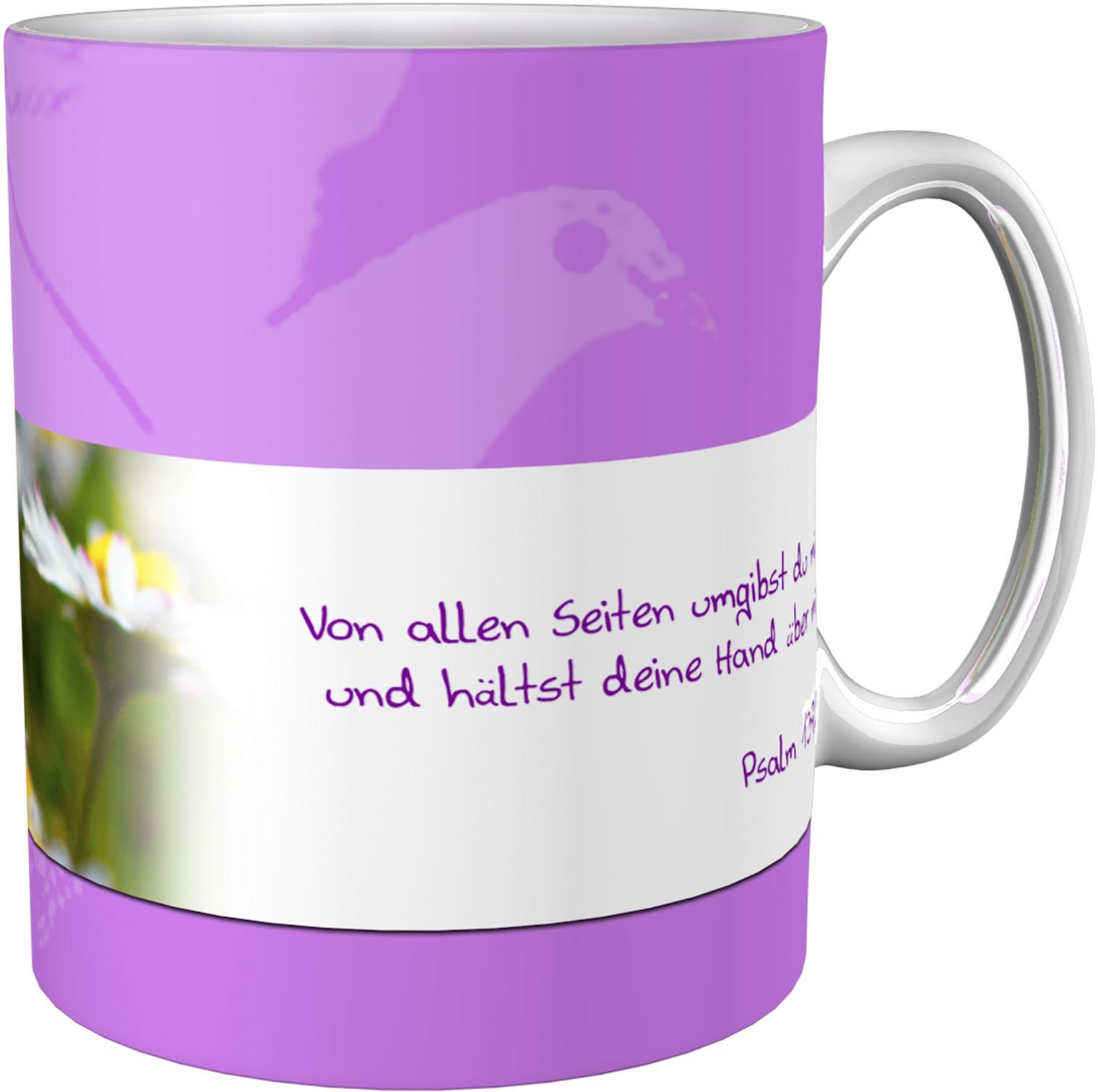 Kaffeetasse / Kaffeebecher / Margeriten / Christlich