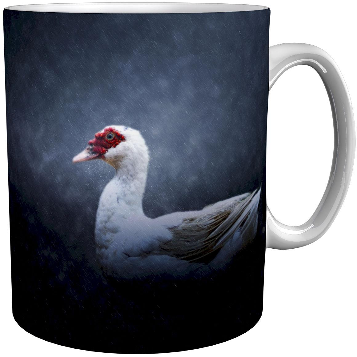 Kaffeetasse / Kaffeebecher / Enten / Geschenktasse