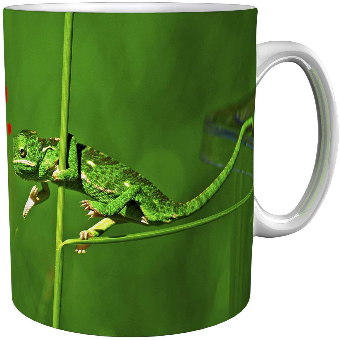 Kaffeetasse / Kaffeebecher / Chamäleons / Geschenktasse