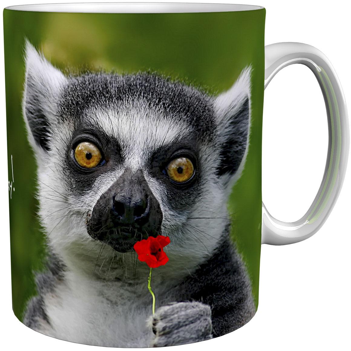 Kaffeetasse / Kaffeebecher / Meerkatzen / Geschenktasse