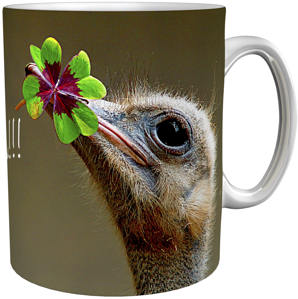 Kaffeetasse / Kaffeebecher / Strauß / Geschenktasse