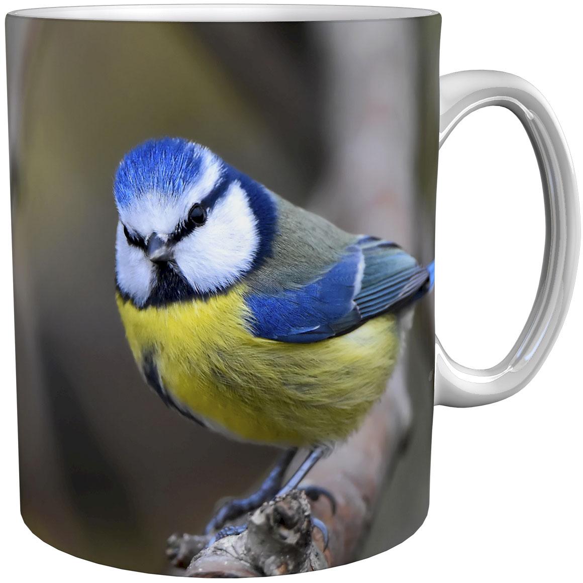 Kaffeetasse / Kaffeebecher / Meisen / Geschenktasse