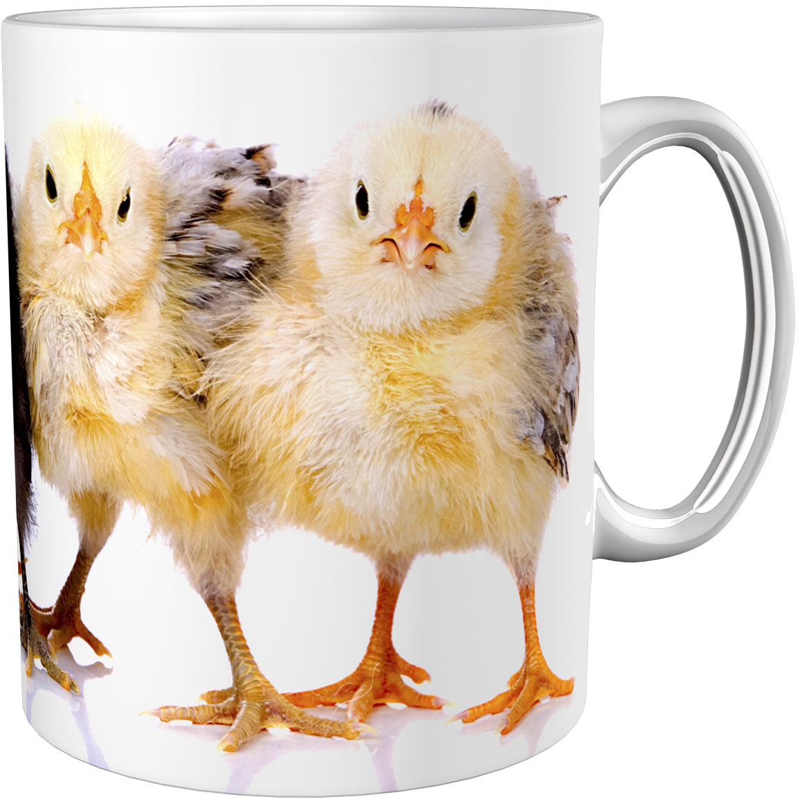 Kaffeetasse / Kaffeebecher / Küken / Geschenktasse
