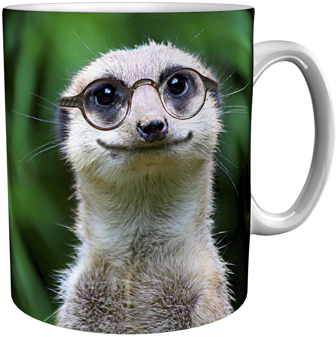 Kaffeetasse / Kaffeebecher / Erdmännchen / Geschenktasse