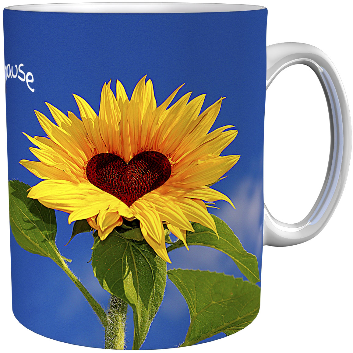 Kaffeetasse / Kaffeebecher / Sonnenblumen / Geschenktasse
