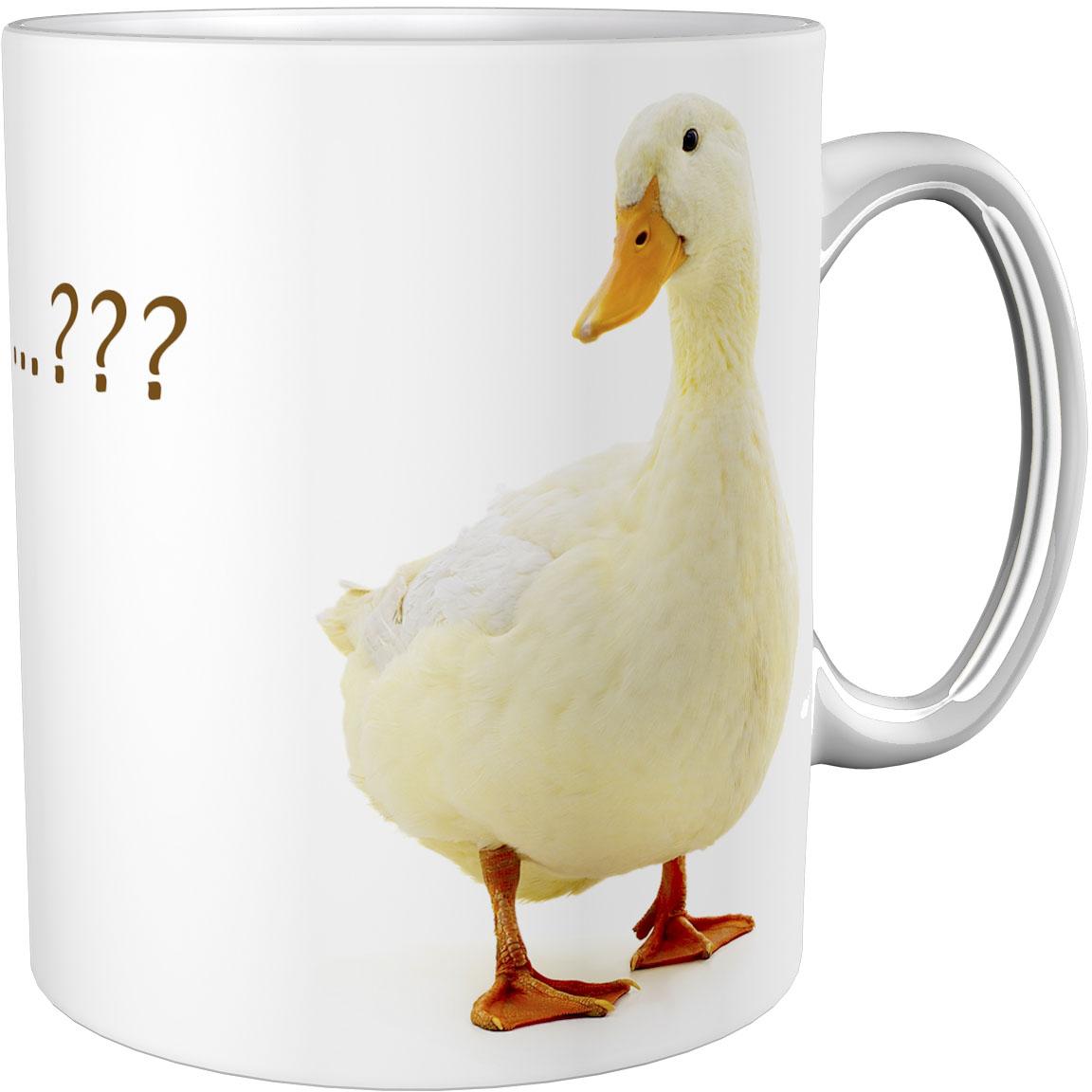 Kaffeetasse / Kaffeebecher / Gänse / Geschenktasse
