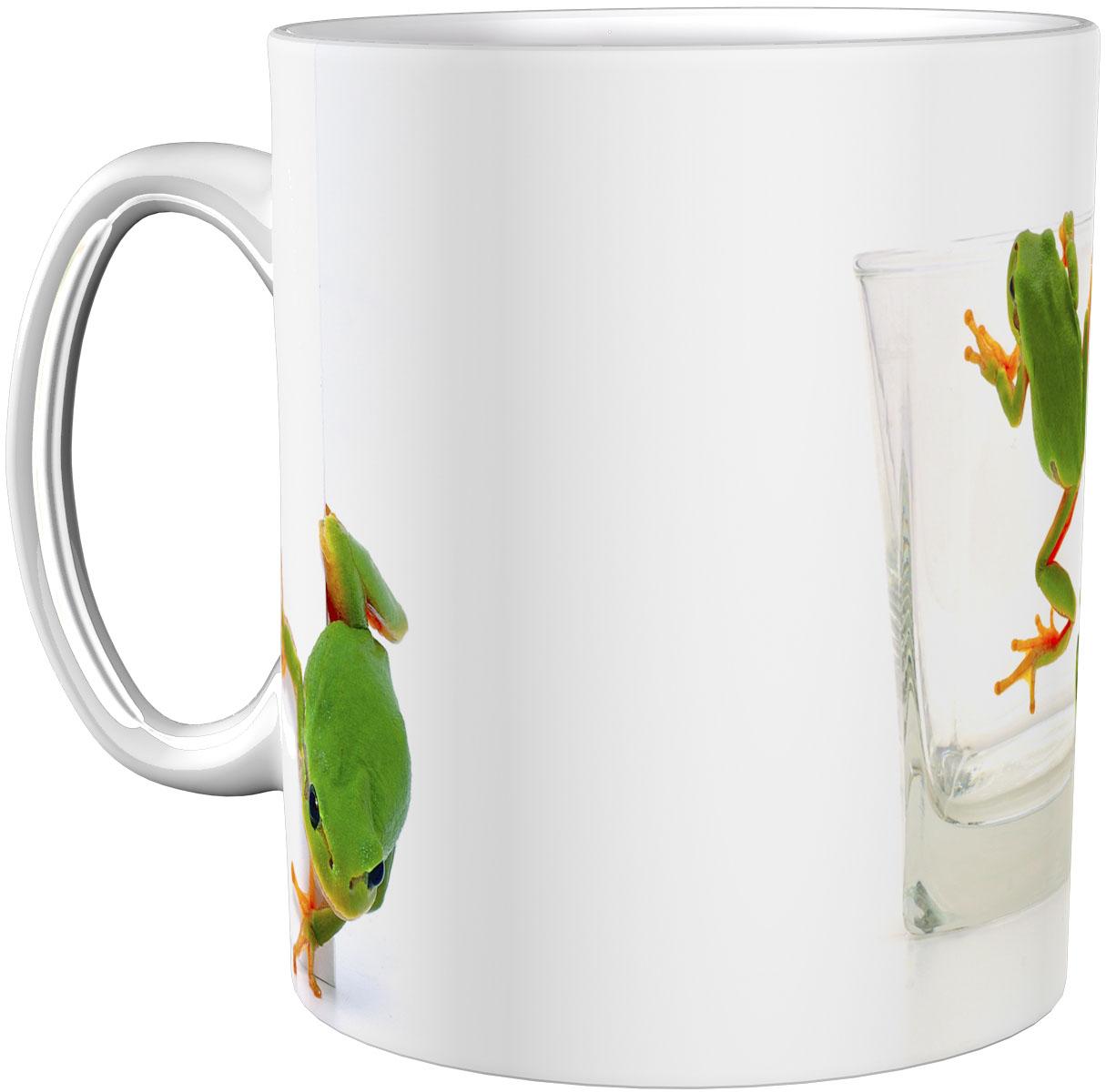Kaffeetasse / Kaffeebecher / Frösche / Geschenktasse