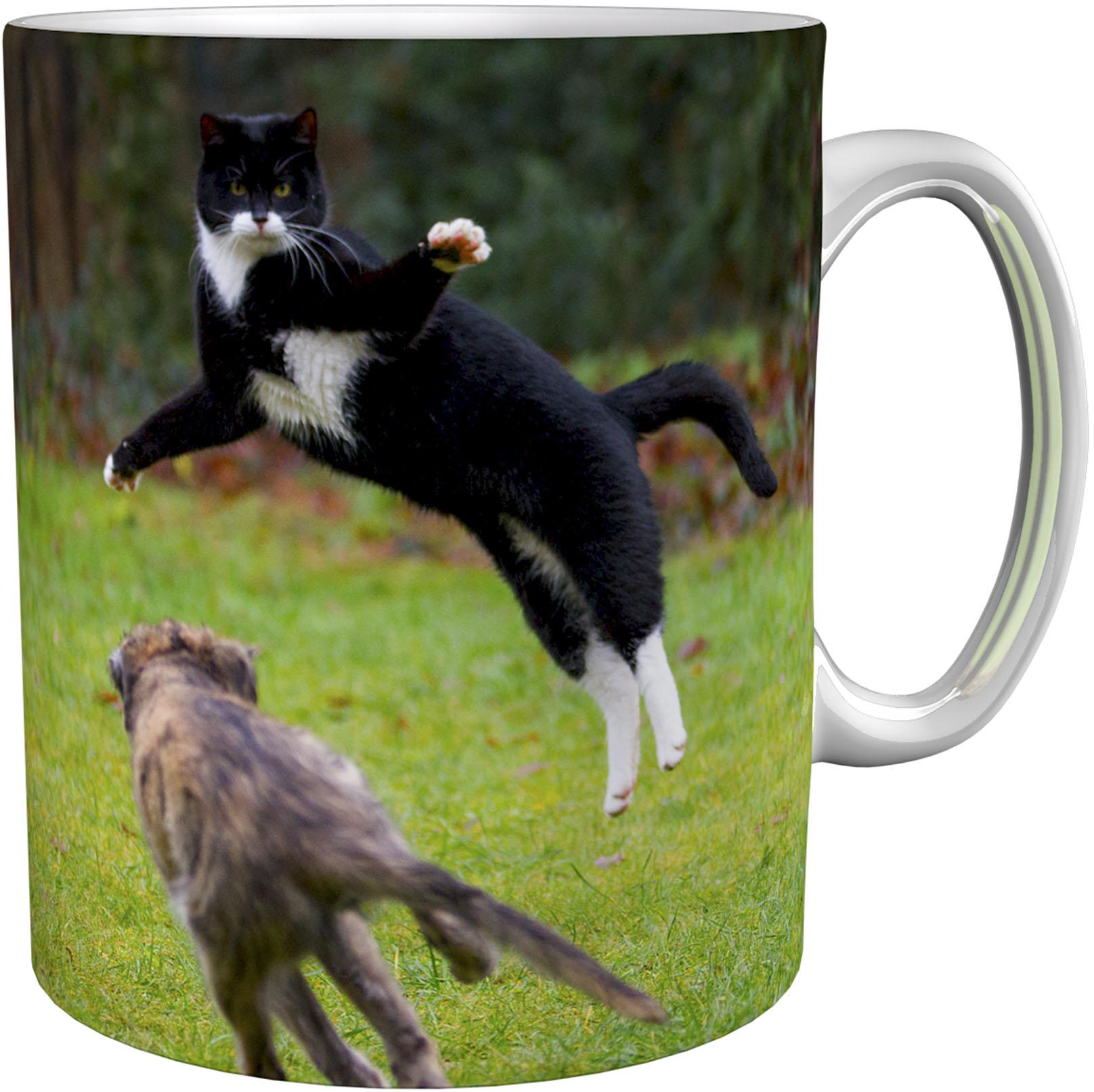 Kaffeetasse / Kaffeebecher / Katzen / Hunde / Geschenktasse
