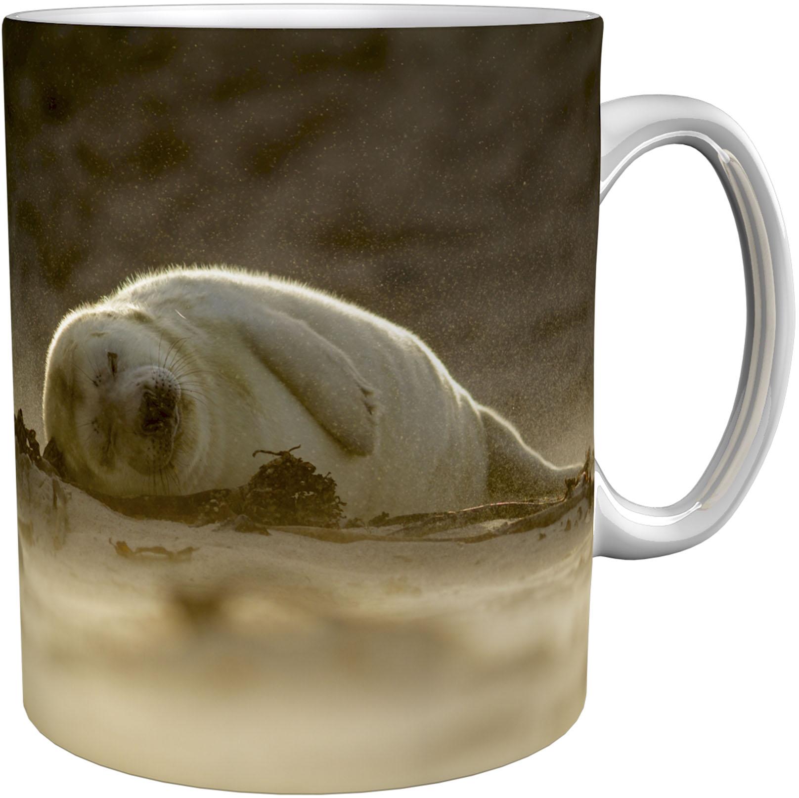 Kaffeetasse / Kaffeebecher / Robben / Geschenktasse