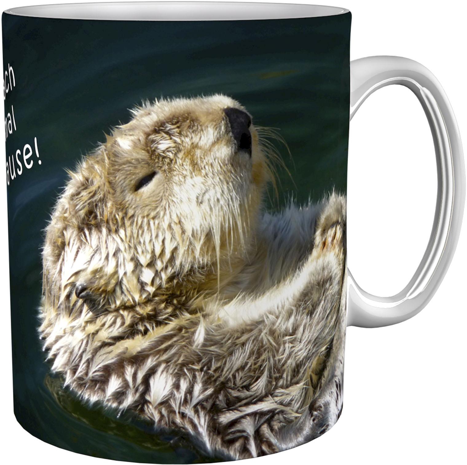 Kaffeetasse / Kaffeebecher / Otter / Geschenktasse
