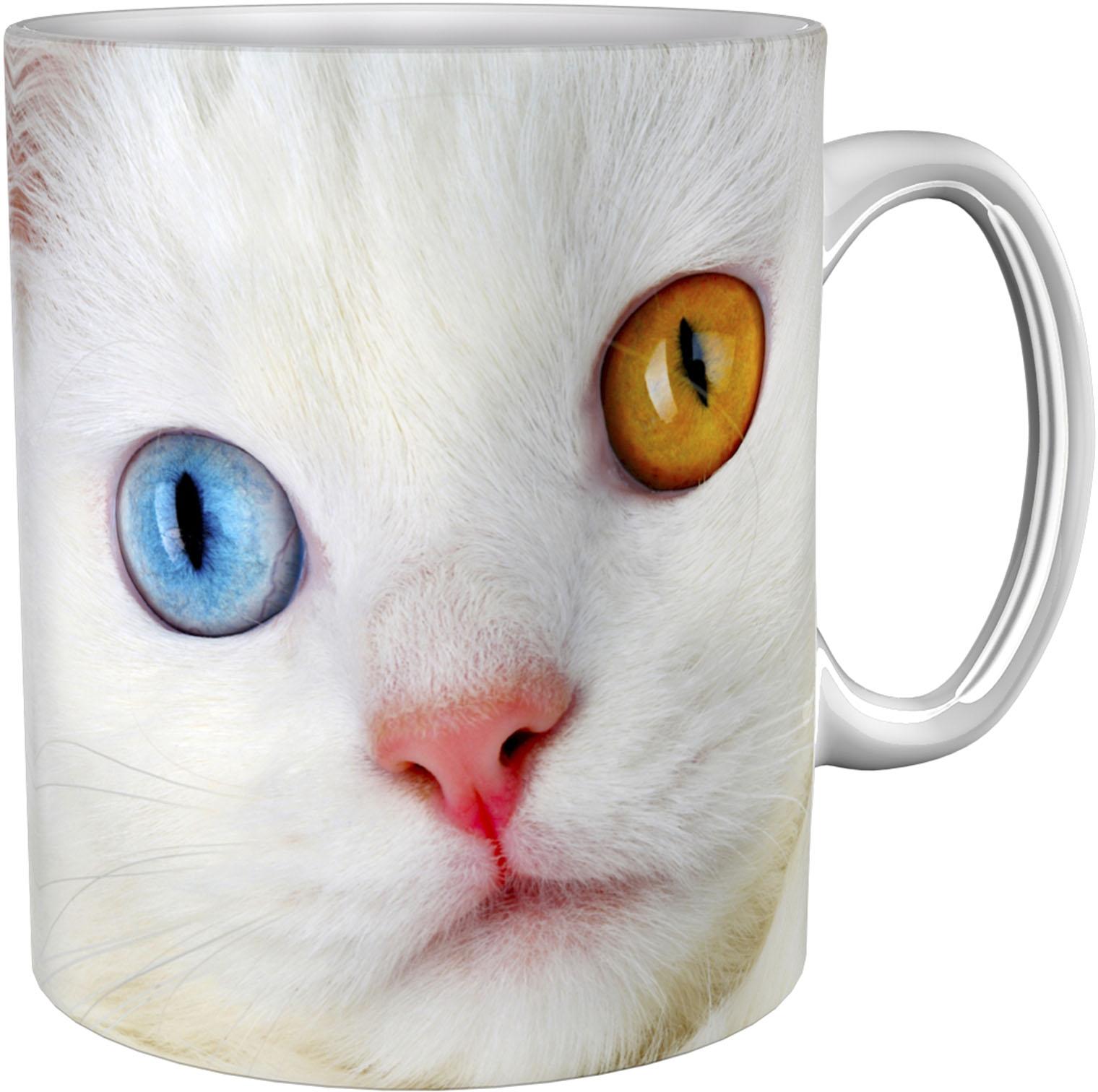 Kaffeetasse / Kaffeebecher / Katze / Geschenktasse