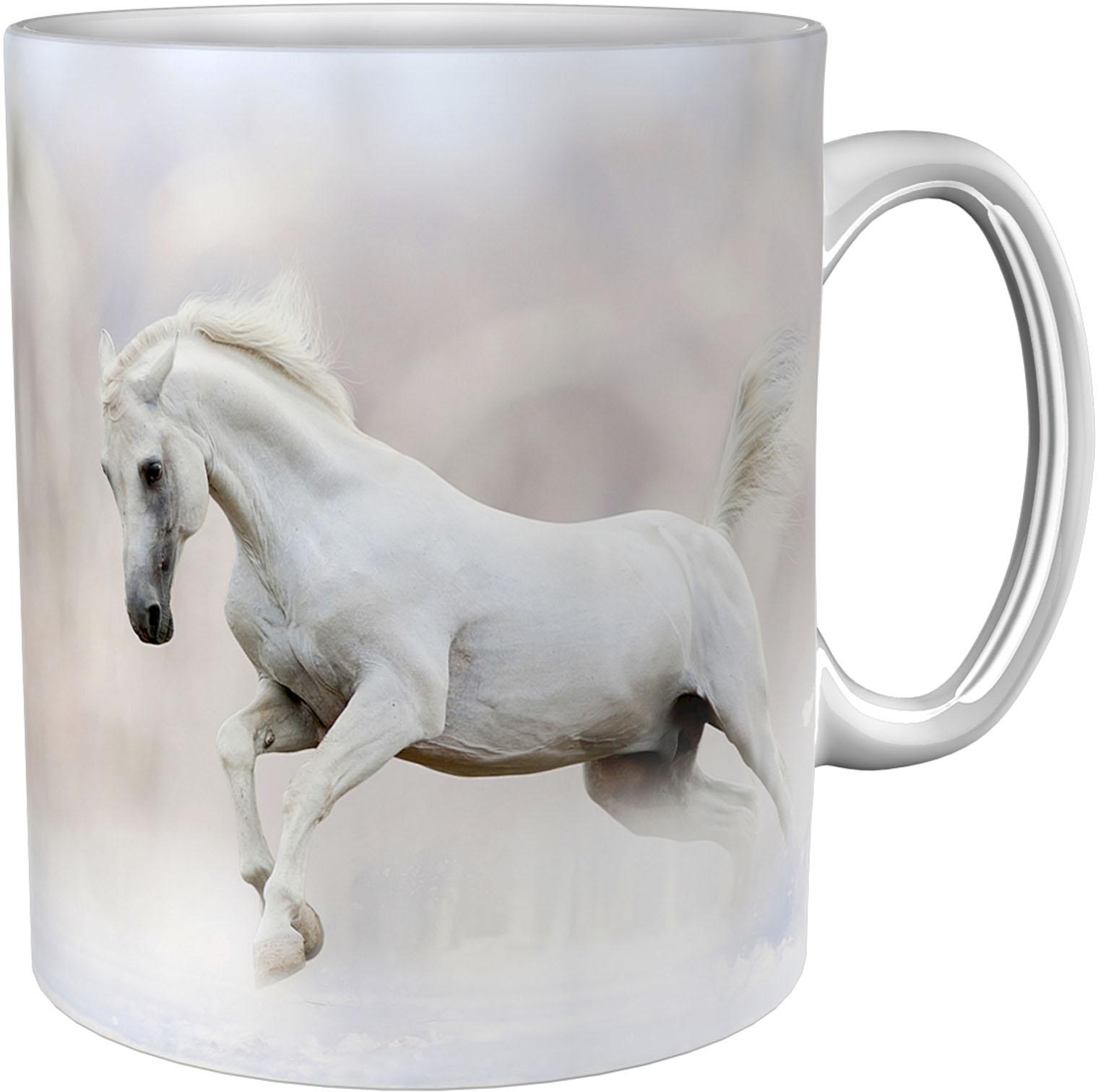 Kaffeetasse / Kaffeebecher / Pferd / Geschenktasse
