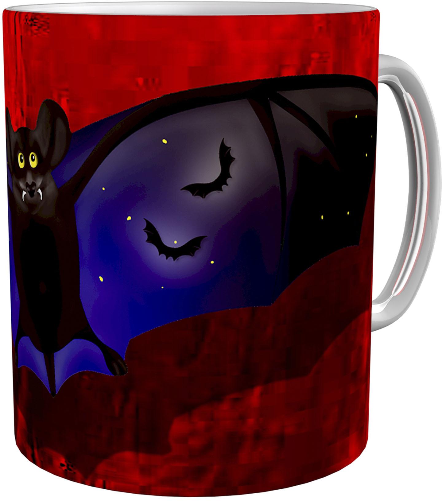 Kaffeetasse / Kaffeebecher / Fledermaus / Geschenktasse