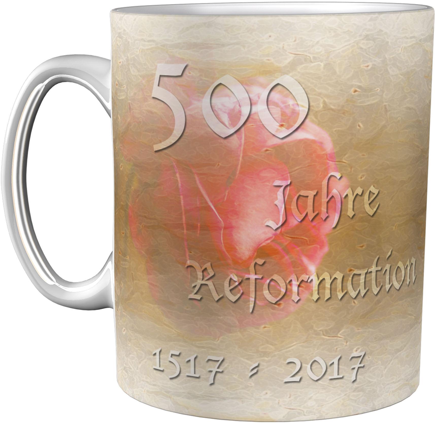 Kaffeetasse / Kaffeebecher / Martin Luther / Geschenktasse