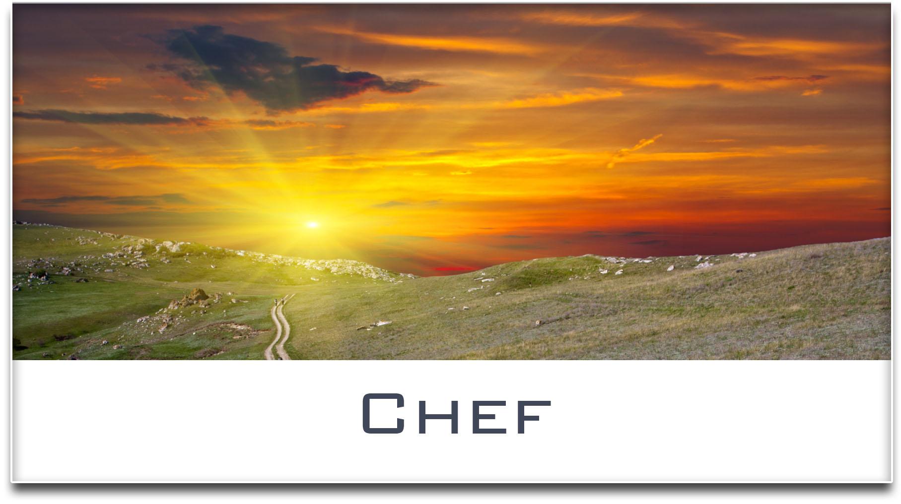 Türschild / Haustürschild / Sonnenuntergang / Chef / Selbstklebend