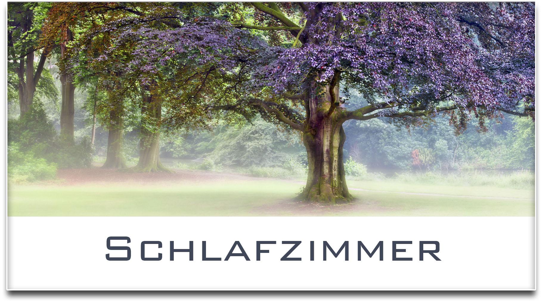 Türschild / Haustürschild / Blutbuche / Baum / Schlafzimmer / Selbstklebend
