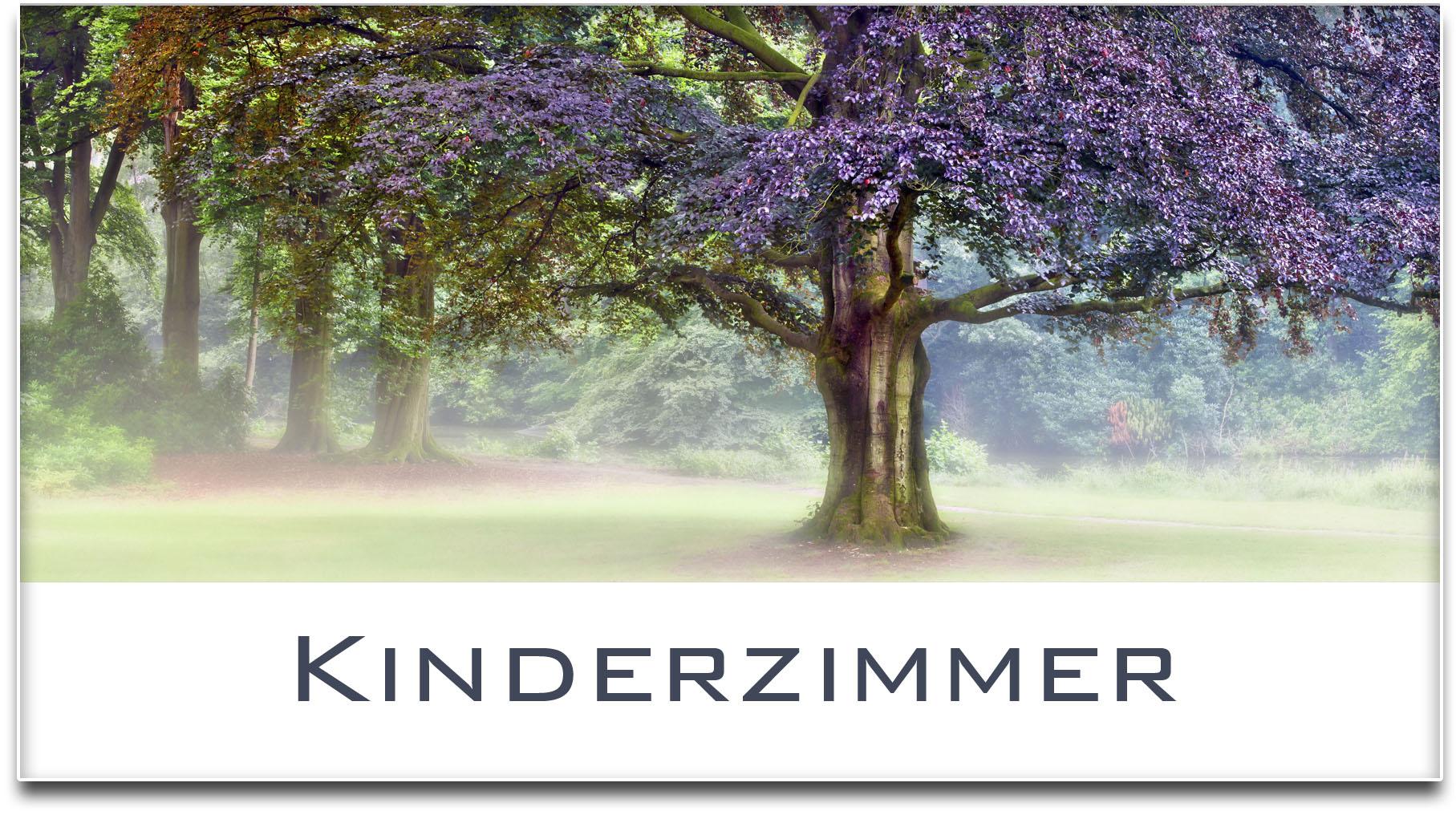 Türschild / Haustürschild / Blutbuche / Baum / Kinderzimmer / Selbstklebend