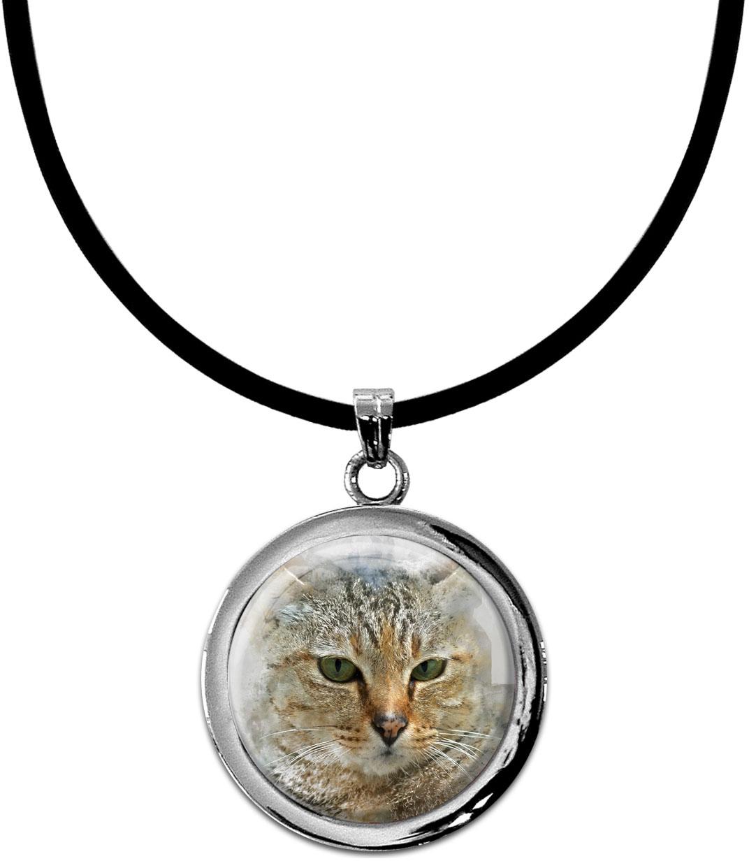 Kettenanhänger / Katze