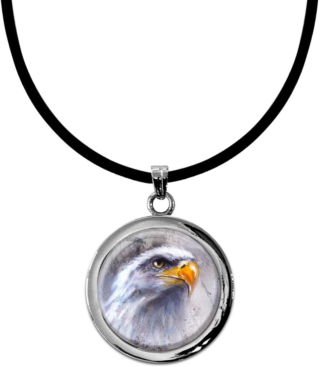Kettenanhänger / Adler / Weißkopfseeadler / Raubvogel