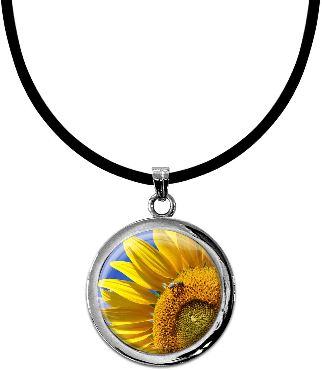 Kettenanhänger / Sonnenblume