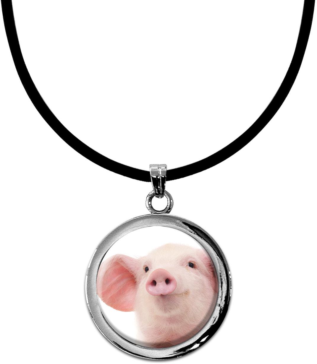 Kettenanhänger / Schwein