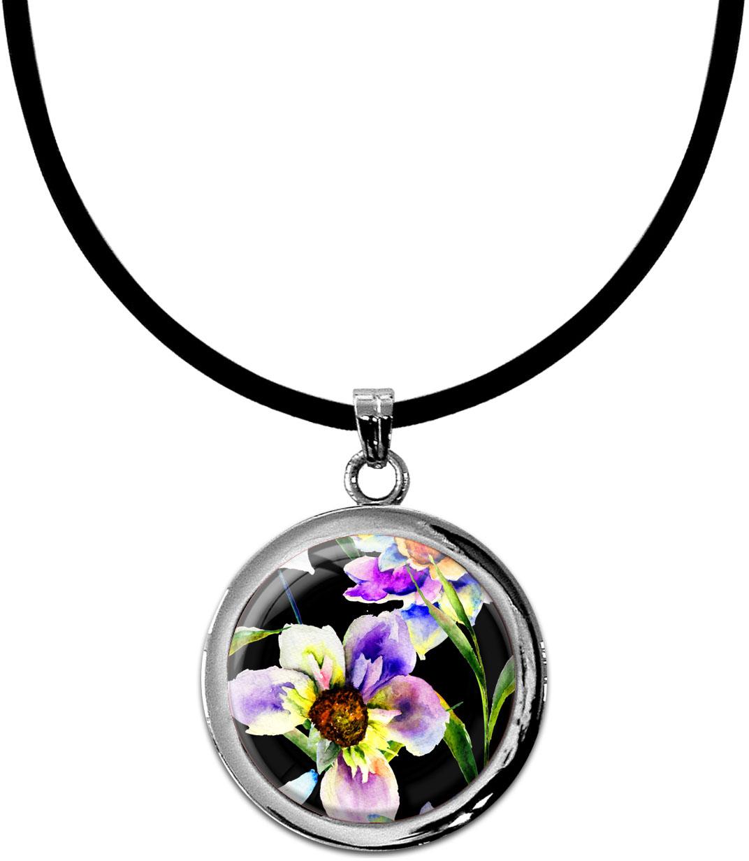 Kettenanhänger / Blumen