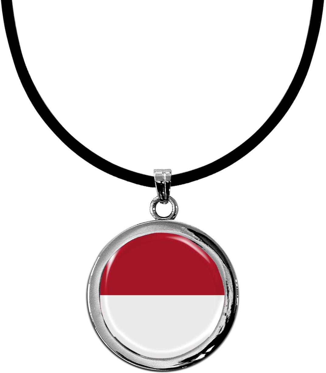 Kettenanhänger / Monaco / Silikonband mit Silberverschluss